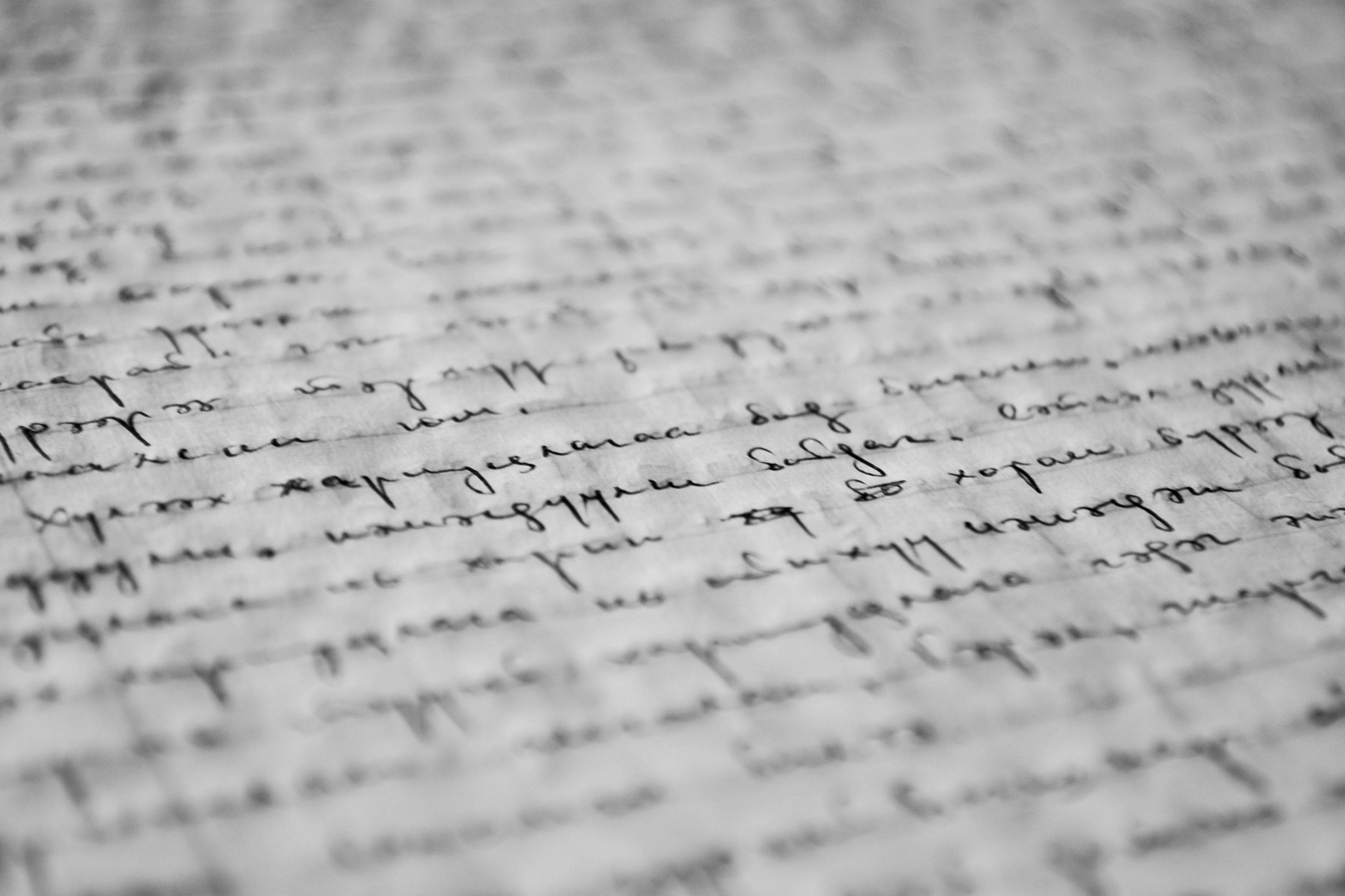 manuscript-729617_1920